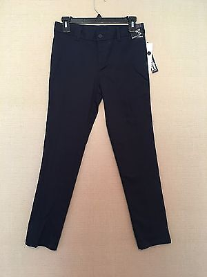 Girls FRENCH TOAST Navy Blue Skinny Stretch Official School Uniform Pants 14