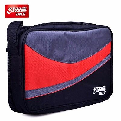 DHS Table Tennis Bag (Double layers, for 2 Rackets) Ping Pong Case