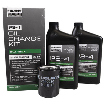 OEM Oil Change Kit Polaris Sportsman 600 700 800 RZR 570 800 Ranger 700 800