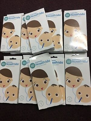 10 x FRIDABABY NoseFrida Nasal Aspirator, Snot Sucker, BPA and phthalate
