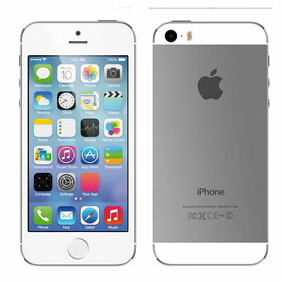 Apple iPhone 5s 32GB White Silver 6 MONTHS WARRANTY