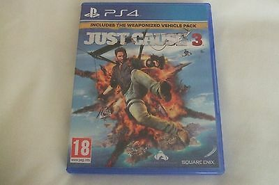 Just Cause 3 (Sony PlayStation 4, 2016)