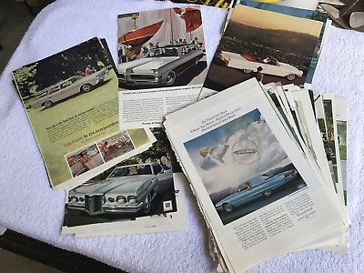 Large Lot of Vintage (60's) Automotive Advertising