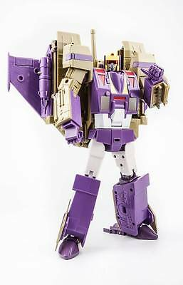 Transformers KFC Eavi Metal Phase VII A: Ditka G1 Blitzwing in USA NOW!
