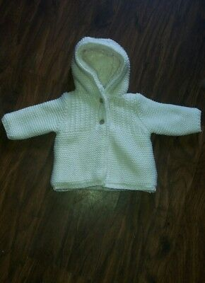 Baby Girl Coat Up To 3months