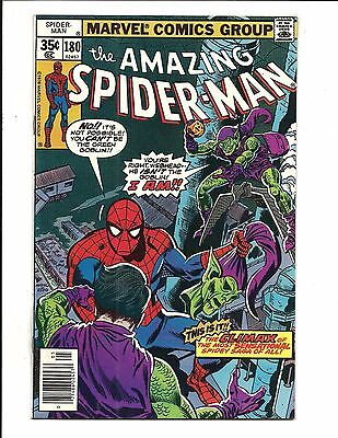 AMAZING SPIDER-MAN # 180 (GREEN GOBLIN app. MAY 1978), NM-