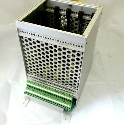 Reliance Electric 8038100 4 Slot Rack Enclosure And Fan