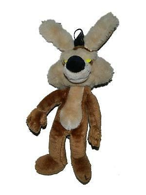 "Mighty Star 18"" Wile E Coyote Plush Stuffed Animal 1990 Warner Bros Poseable Ear"
