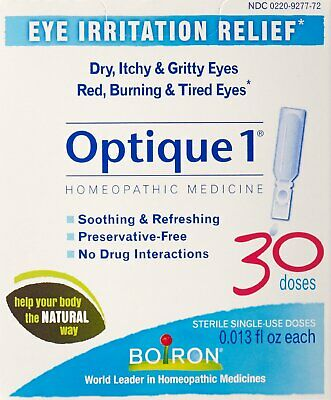 OPTIQUE 1 EYE Drops 20 doses by Boiron - $11 07 | PicClick