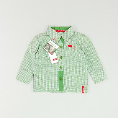 Camisa color Verde marca Name it 9 Meses