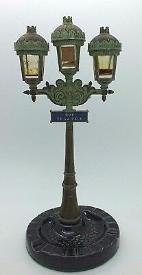 Corday Perfume Paris Street Light Ashtray Bottle Holder Rue De La Paix France