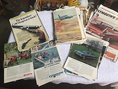 Large Collection of Vintage (50's- 60's) Advertising