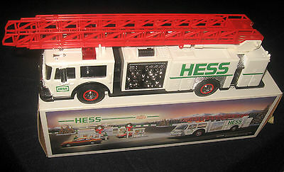 1989 Hess Collectable Toy Fire Truck - New - Still In Original Box