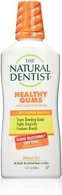Natural Dentist - Healthy Gums Daily Oral Rinse Orange Zest - 16.9 Oz (Pack Of 3