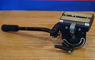 Bogen Manfrotto 116 Heavy Duty Fluid tripod head, NEAR MINT!  (3066 version #1)