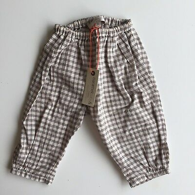 Caramel Baby & and Child London Swale Trousers Plaid Pants 6 months