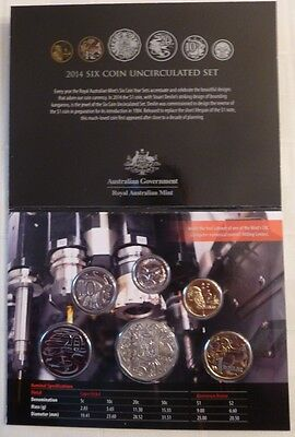 2014  Royal Australian Mint Special Edition Six Coin Uncirculated Set