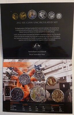2012  Royal Australian Mint Special Edition Six Coin Uncirculated Set