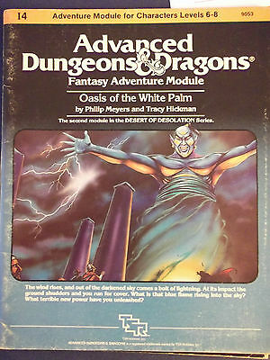 Oasis Of The White Palm - Advanced Dungeons & Dragons Module I4