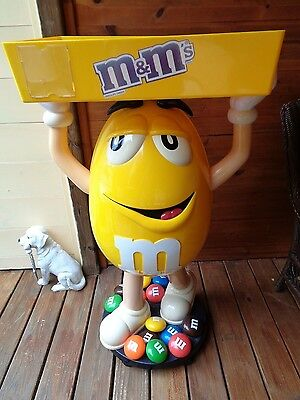 """M&m Store Display Tall 45""""not Sold In Stores Local Pick-Up Only"""