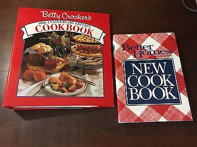 Betty Crocker's 40th Anniversary Edition and Better Homes Cookbook