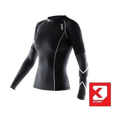 2XU Women's Xform Thermal Long Sleeve Compression Top - 2018
