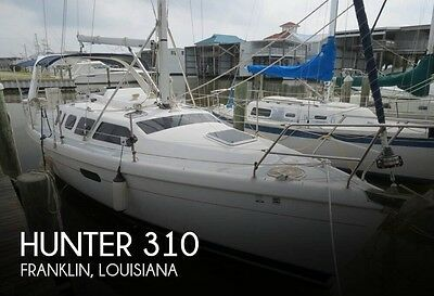 1999 Hunter 310 Used