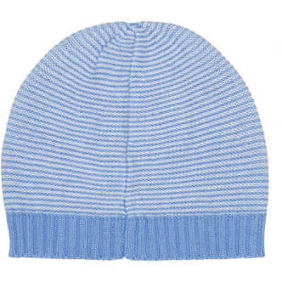 NEW B Collection Baby Boys Knit Stripe Beanie - Blue - Blue