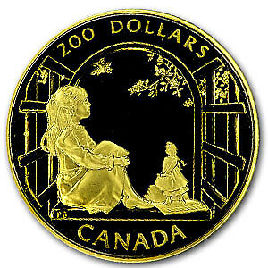 1994 Canada 1/2 oz Proof Gold $200 Anne of Green Gables