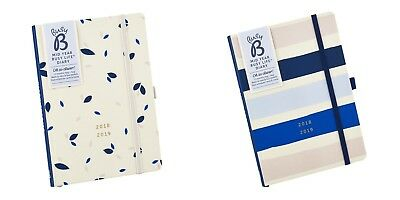 Busy B 2018 Busy Life Diary - Contemporary or Pretty Design