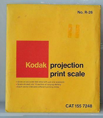 KODAK PROJECTION PRINT SCALE R-26 and Proportion Scale