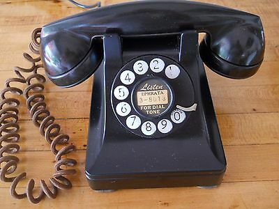 Western Electric 1940's dial telephone in working order