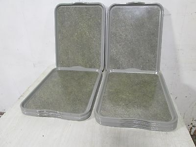 "Lot Of 20 ""cambro-1520Vcrst"" Hd Commercial (Nsf) Fiberglass Room Service Trays"