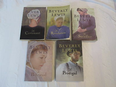 Beverly Lewis Complete Set/lot of 5 Abram's Daughters Series Books Read Once L40