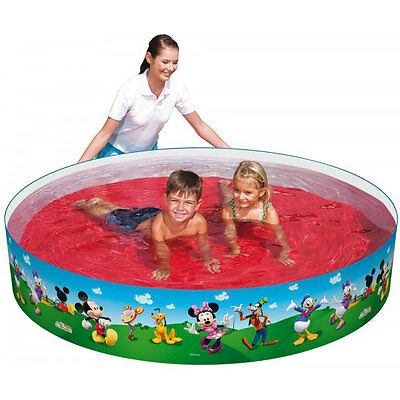 Bestway Disney Mickey Mouse kids garden outdoor swimming pool Paddling Pool