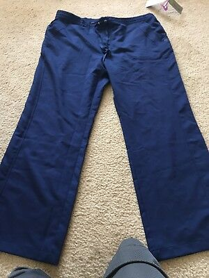 Healing Hands Scrub Pants 2X Brilliant navy  Blue Color, style # 9095x