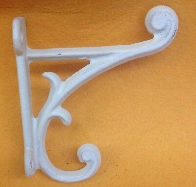 Cast Iron Vintage Style Old School  Hat & Coat Hook  Set Of 6