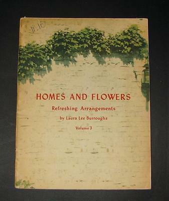 """1942 From the Coca-Cola Company """"Homes & Flowers"""" Refreshing Arrangements Book 3"""