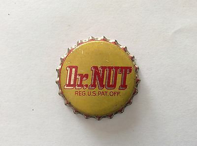 Dr. Nut   Soda   Bottle Cap  -   Unused   -  Cork Lined