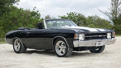 """1971 Chevrolet Chevelle  1971 Chevrolet Chevelle SS Convertible """"502 Fuel-injected RamJet/less than1000mi"""