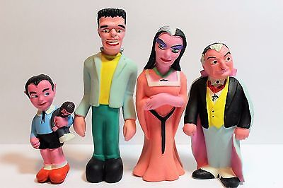 1964 MUNSTERS Rubber Dolls ALL 4  Mint