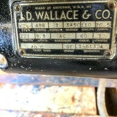 """JD Wallace & Co 10"""" Radial Arm Saw"""