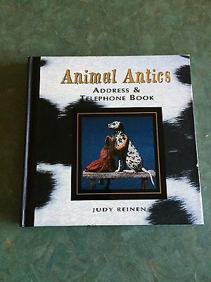 Animal Antics Dog Address book