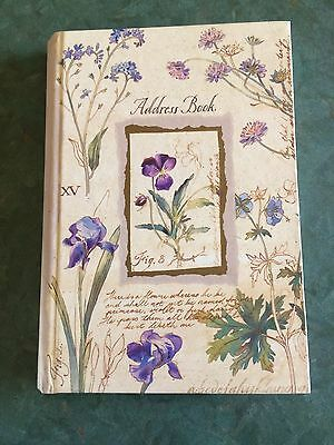 Floral Elegance Address Book