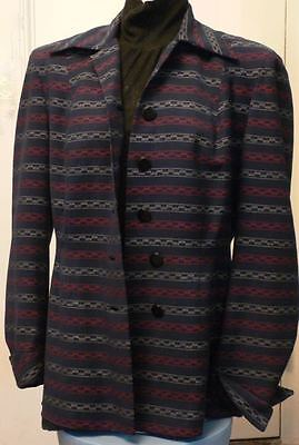 Gorgeous Fitted Vintage 1940s Jacket! So Flattering! VLV Swing Boylin MINT! M L