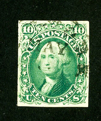 US Stamps # 68 VF Used Scott Value $60.00
