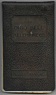 Early 1900s Ohio Bell Telephone Co Sales Manual, Switchboard & Telephone Photos