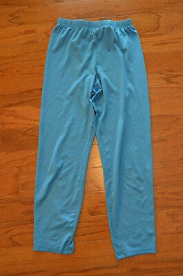 Girl's PATAGONIA Blue Long Underwear Base Layer Bottoms Pants Size Large L 12