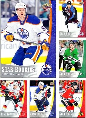 2015-16 UD Star Rookies **** PICK YOUR CARD **** From The SET