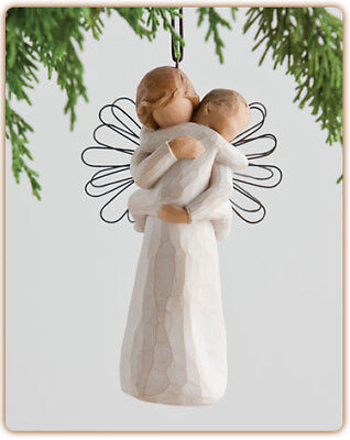 ANGELS EMBRACE Willow Tree Christmas tree ornament 26089